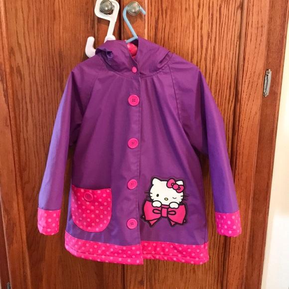 65caf65ef Western Chief Jackets & Coats | Hello Kitty Rain Jacket | Poshmark